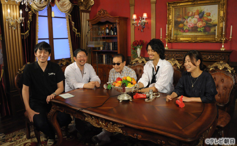"Zenji Uehara Appears on the TV Program, ""Tamori Club"""